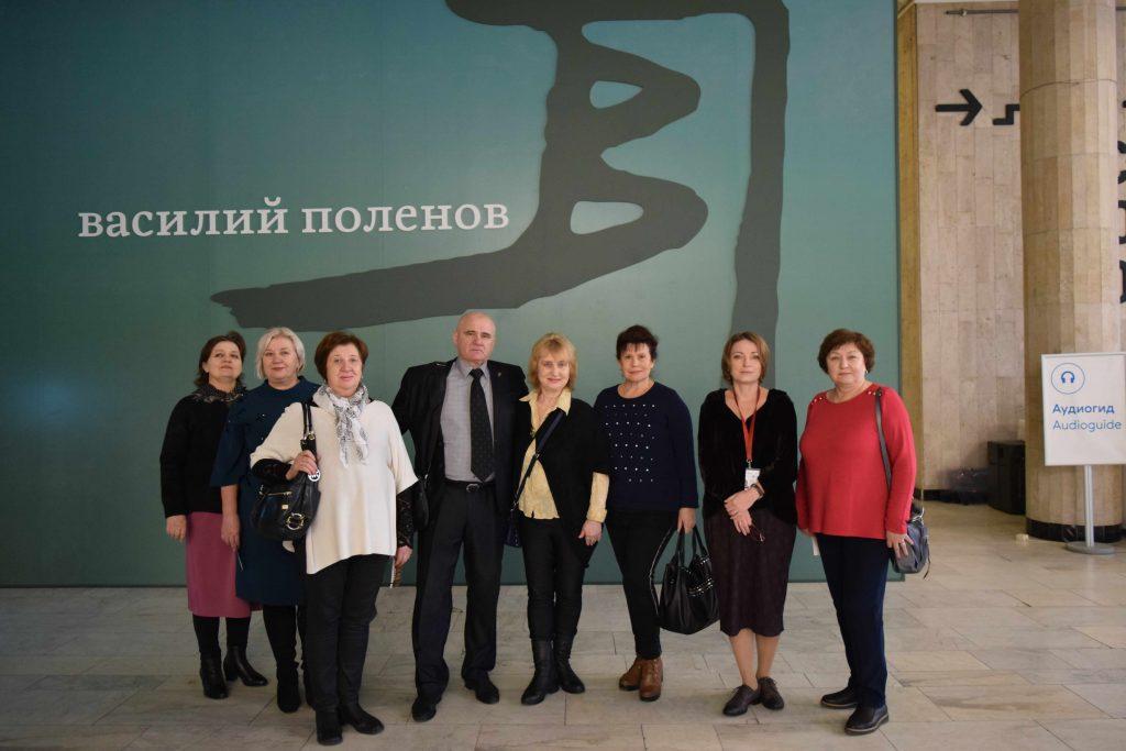 Члены Совета ветеранов посетили Третьяковскую галерею