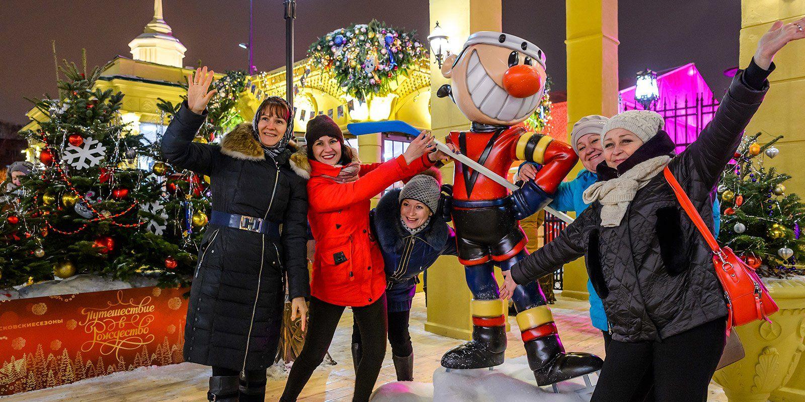 Фестиваль «Путешествие в Рождество» посвятят 55-летию первого выхода человека в открытый космос. Фото: сайт мэра Москвы