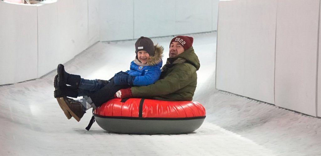 Ледовые горки появятся во дворах района Хамовники