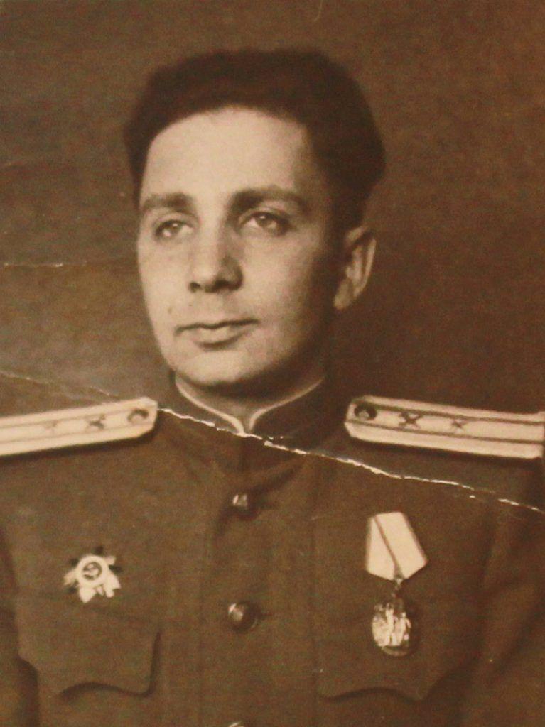 1947 год. Майор Евсей Доброневский на службе во Львове. Фото: личный архив