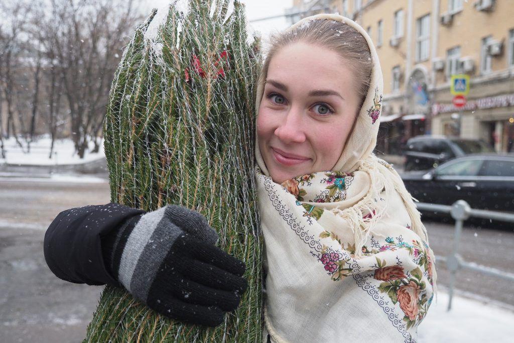 Более 22 тысяч елок сдали москвичи на переработку за две недели