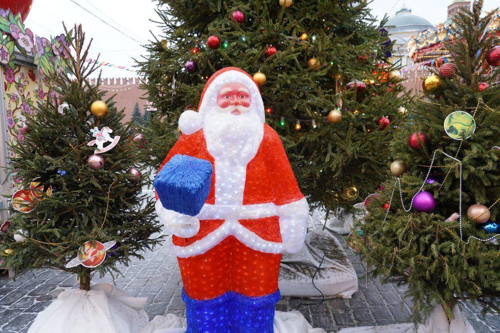 Фестиваль «Путешествие в Рождество» на Красной площади