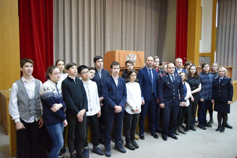 В УВД по ЦАО прошёл «День открытых дверей» для учащихся школ