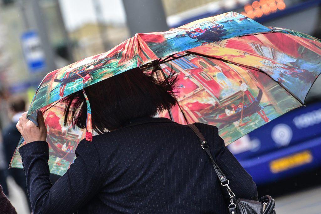 Московские выходные принесут дожди и ветер