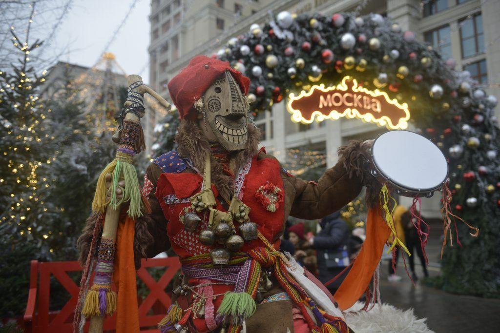 В столице продолжается фестиваль «Путешествие в Рождество». Фото: Наталья Феоктистова