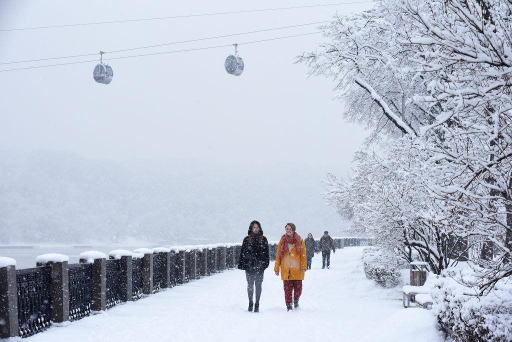 Самый сильный снегопад с начала зимы обрушится на Москву