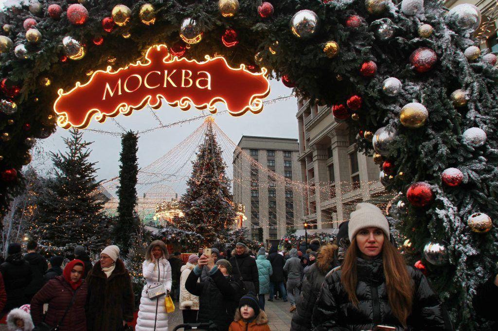 Около пяти миллионов туристов посетили столицу во время январских каникул.Фото: архив, «Вечерняя Москва»