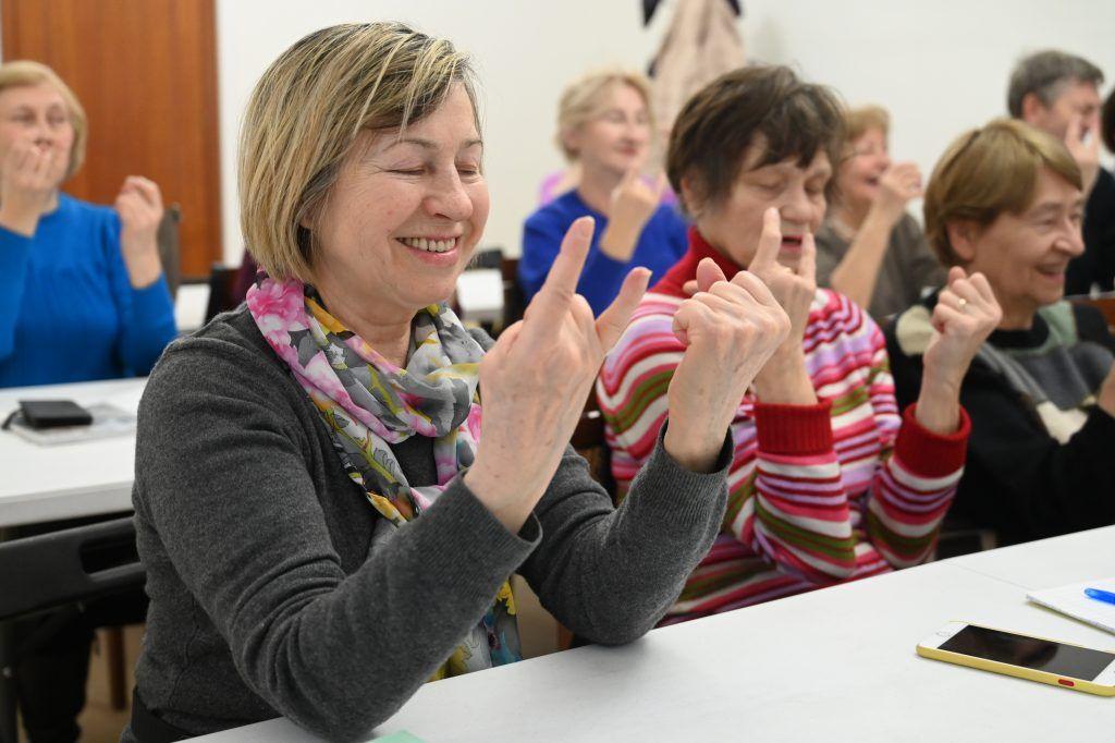 Участники «Московского долголетия» учатся радоваться каждому дню