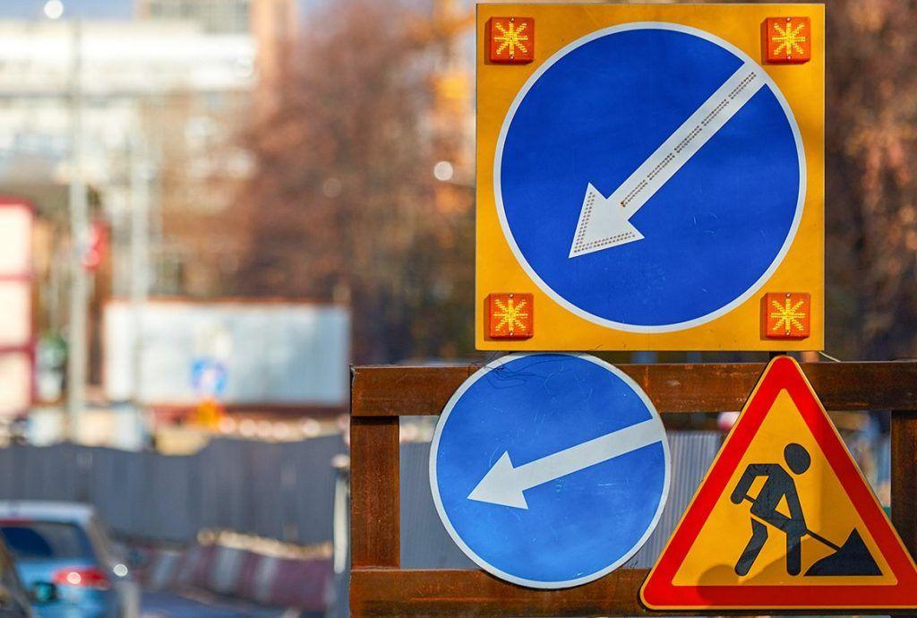 Движение транспорта изменят на некоторых улицах в центре Москвы