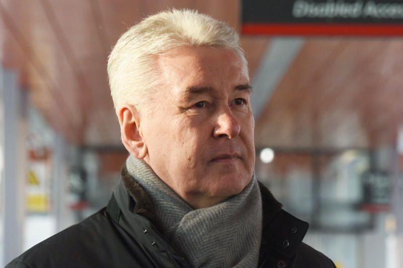 Собянин открыл платформу «Остафьево» МЦД-2