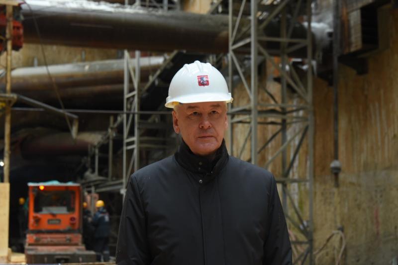 Собянин рассказал о строительстве нового путепровода через МЦК