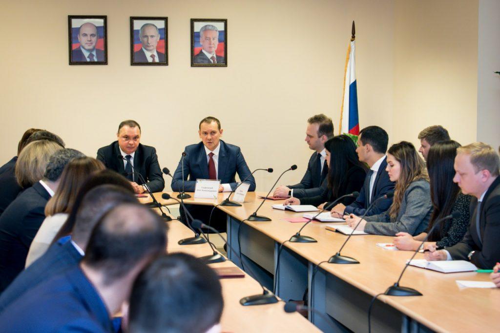 Олег Скуфинский ознакомился с работой столичного Управления Росреестра