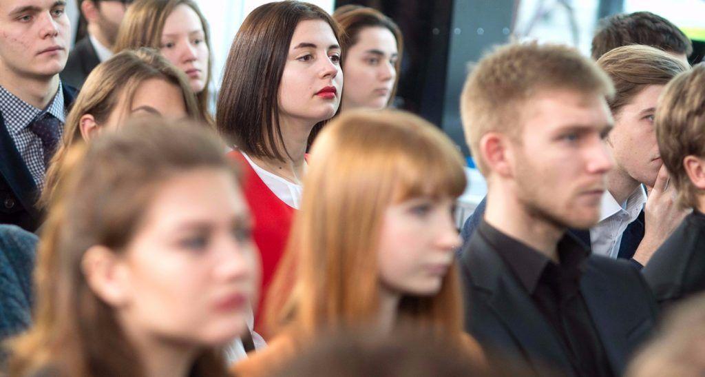 Представители Молодежной палаты Пресненского района посетили экологическую конференцию. Фото: сайт мэра Москвы