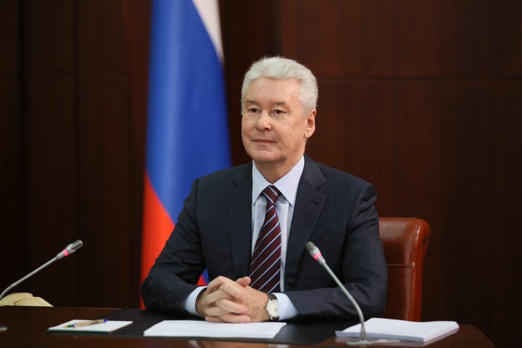 Сергей Собянин заявил об усилении дезинфекционного режима из-за коронавируса