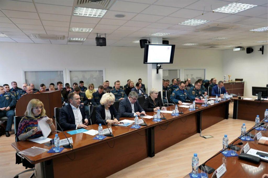 Оперативное совещание об итогах деятельности МЧС прошло в Префектуре Центрального административного округа