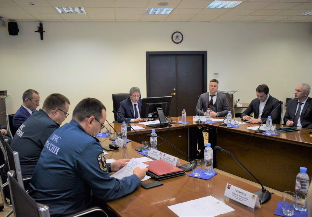 В Префектуре Центрального административного округа столицы подвели итоги работы окружного звена МГСЧС за 2019 год