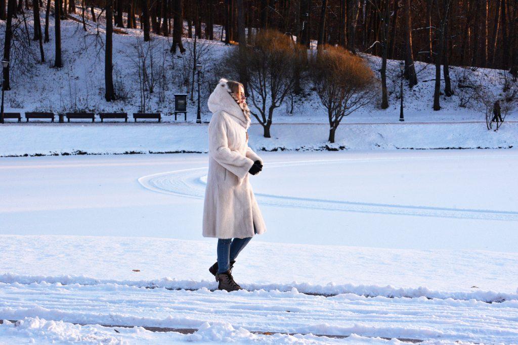 Пятиградусный мороз обрушился на Москву впервые за зиму