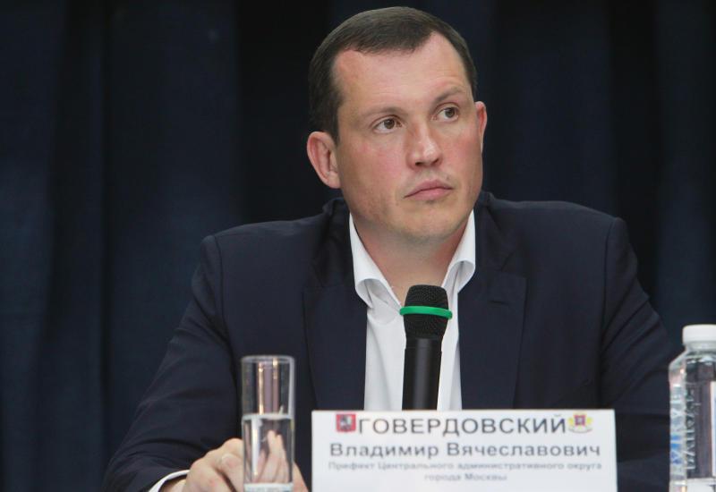 Префект ЦАО Владимир Говердовский 26 февраля встретится с жителями Красносельского района