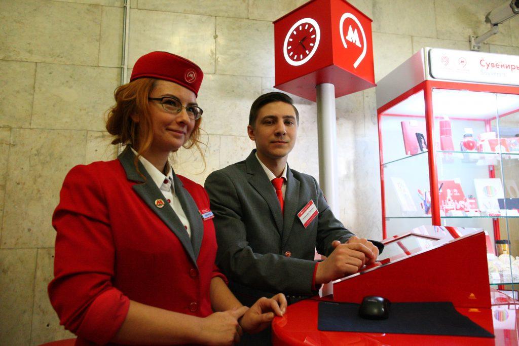 Метро установит еще 10 стоек «Живое общение» в центре Москвы