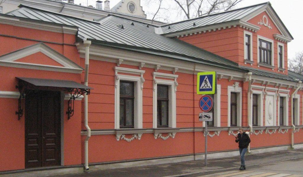 Главный дом городской усадьбы Матвеевых отреставрировали