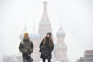 """""""Подобие зимы"""" вернется в выходные. Фото: Александр Казаков"""