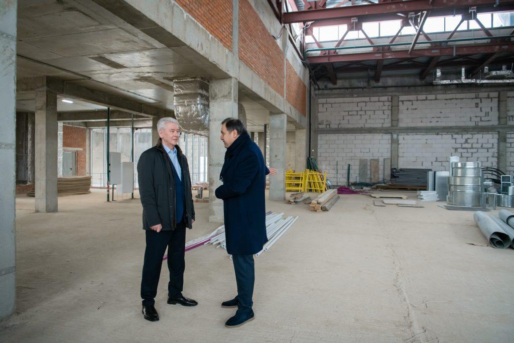 Собянин обсудил ход реализации программы «Мой район» в Куркине
