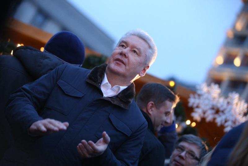 Сергей Собянин заявил о рекордном количестве сданных на переработку елей