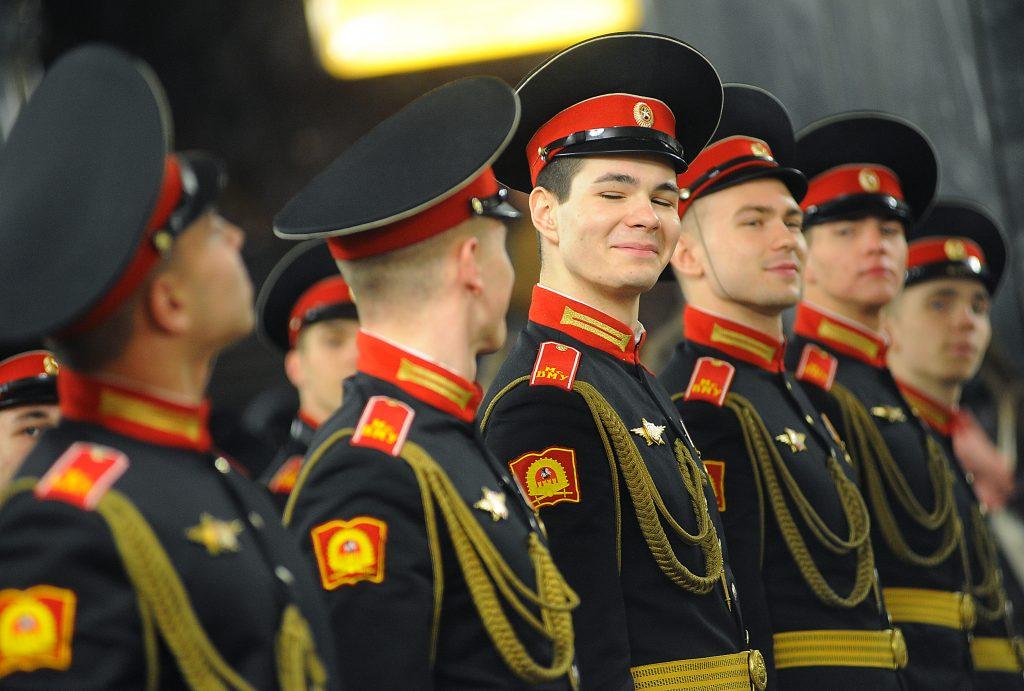 Лучших кадет наградили в Кремле