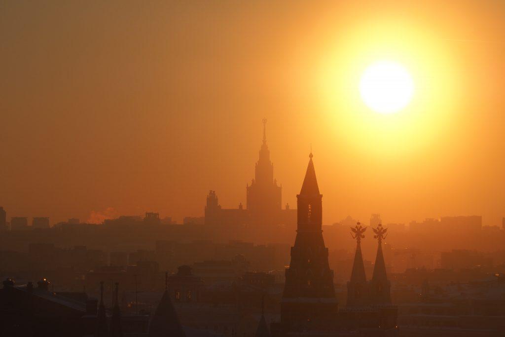 Небо над Москвой станет светлее в четверг