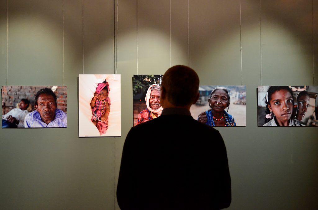 Выставка фотографий древнего племени Саора в Государственном музее Востока. Фото: Анна Быкова