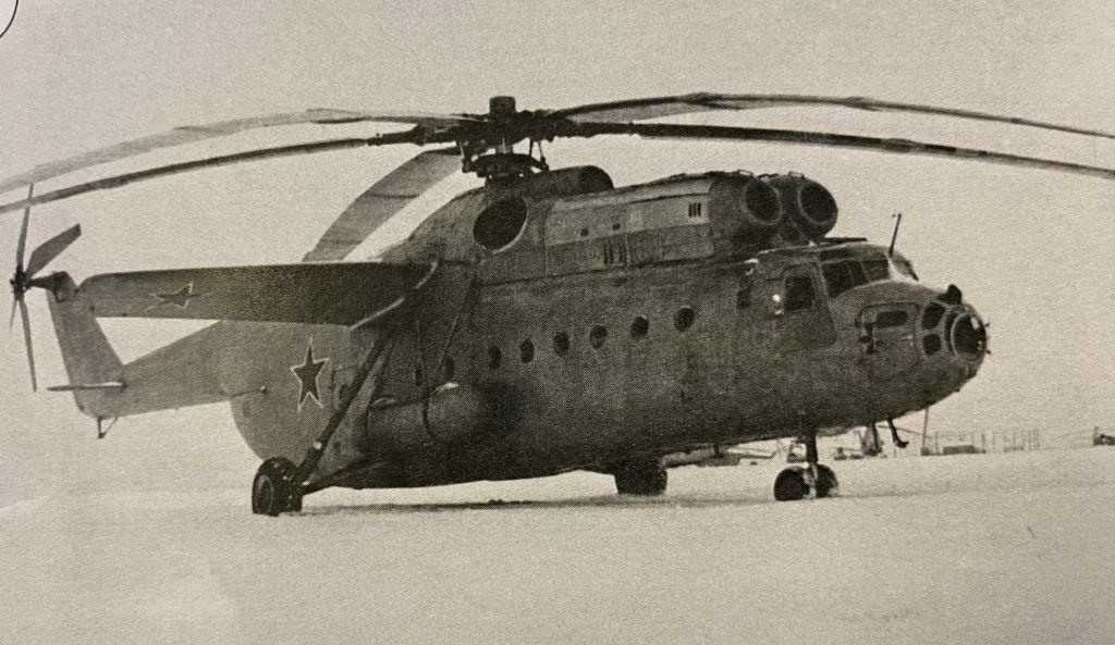 Вертолет Ми-6, на котором Владимир Наумкин летал 18 лет. Фото предоставил герой