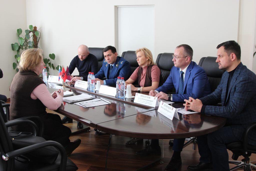 В префектуре ЦАО совместный прием граждан провели Уполномоченный по защите прав предпринимателей Москвы и прокурор округа
