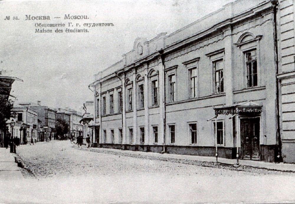 Общежитие для студентов ГИТИСа, неподалеку от театра, Фото: пресс-служба Театра на Малой Бронной