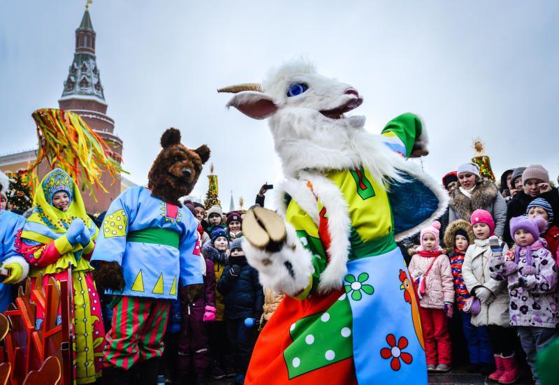 Праздники в Москве будут проходить почти каждые выходные
