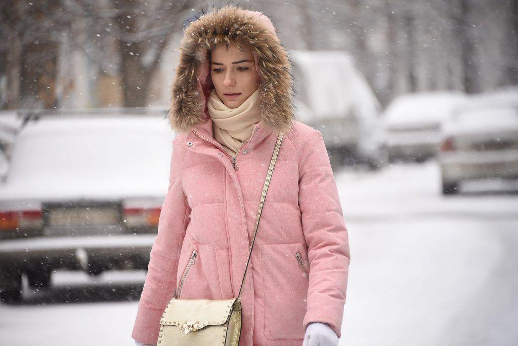 Понедельник принесет снегопад и северный ветер в Москву