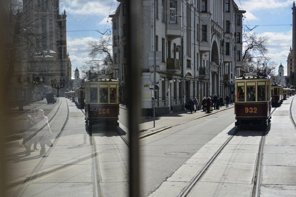За 121 год Москва получила 418 километров трамвайных путей