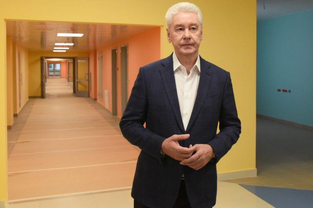 Собянин открыл коронавирусный стационар в ГКБ № 24