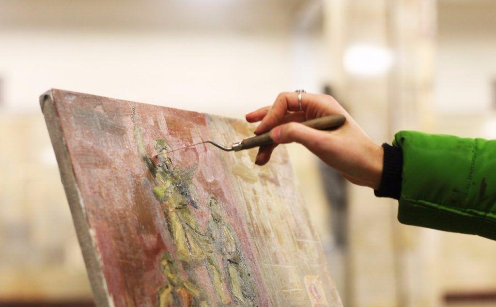 Серию мастер-классов по рисованию онлайн проведут сотрудники Таганского парка