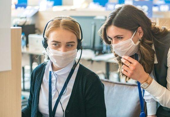 Более 125 тыс обращений за соцуслугами поступило на горячую линию. Фото: сайт мэра Москвы
