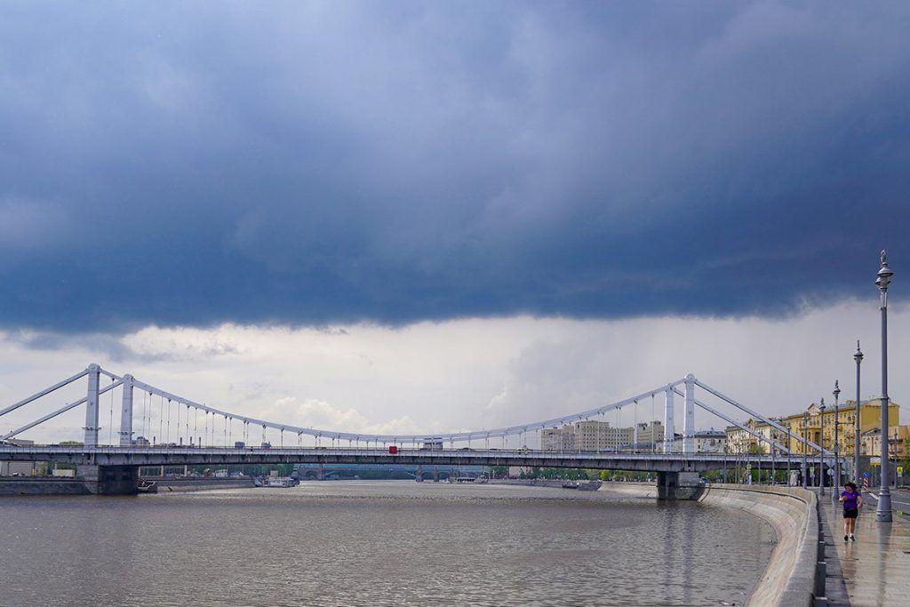 Выходные принесут «желтый» уровень опасности погоды в Москву