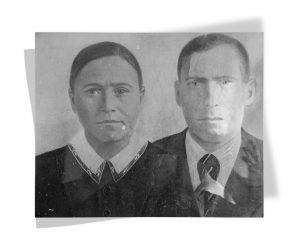 Родители Александры Савиной, Егор и Ольга Савины, 1939 год. Фото из личного архива