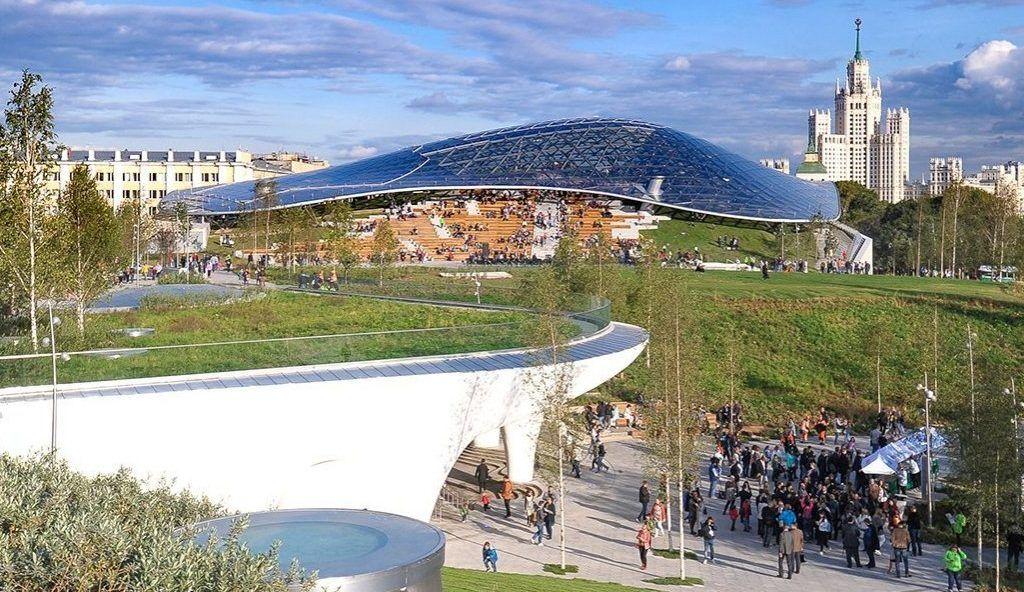 Победителей проекта «Московская Арт Премия» объявят в парке «Зарядье». Фото: сайт мэра Москвы