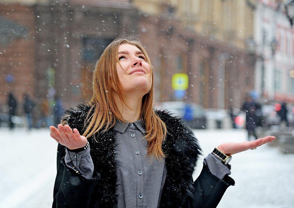 Москвичей удивили снегом на неделе