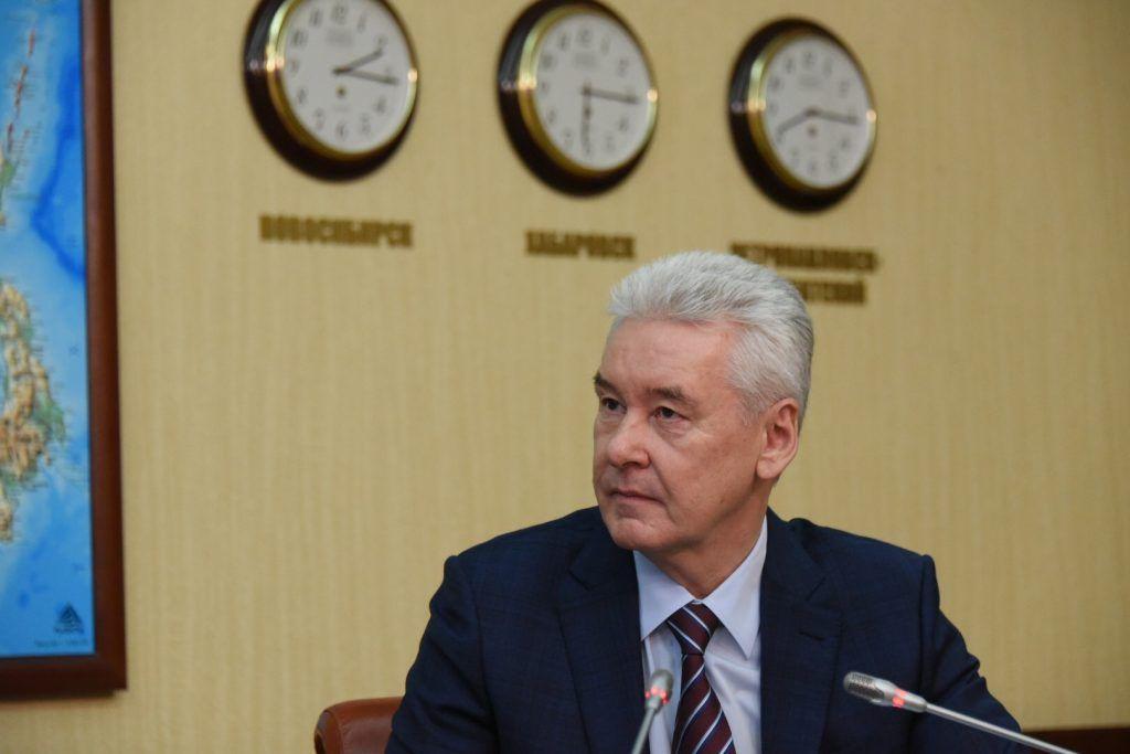 Собянин: Бизнес обеспечил город всем необходимым во время пандемии