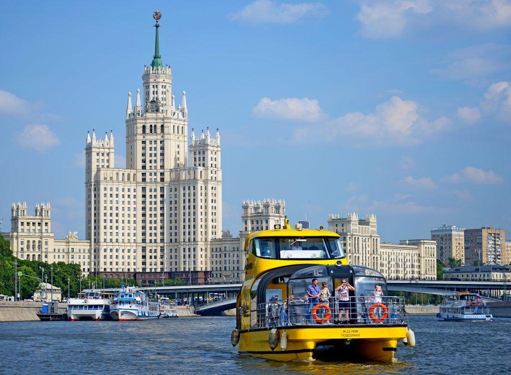 Москва отложила запуск водного транспорта