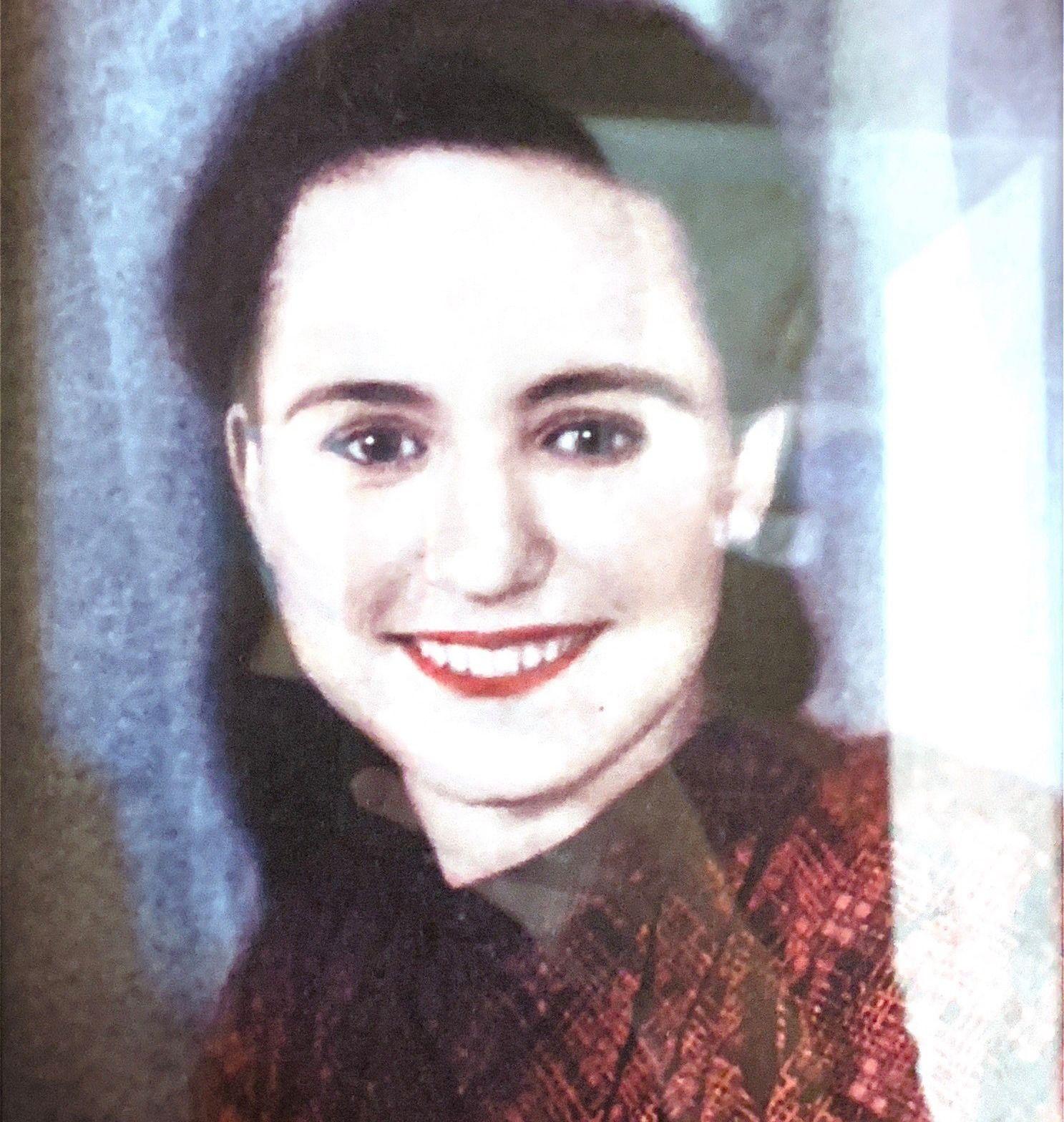Александра Дарьина, 1955 год. Фото из личного архива