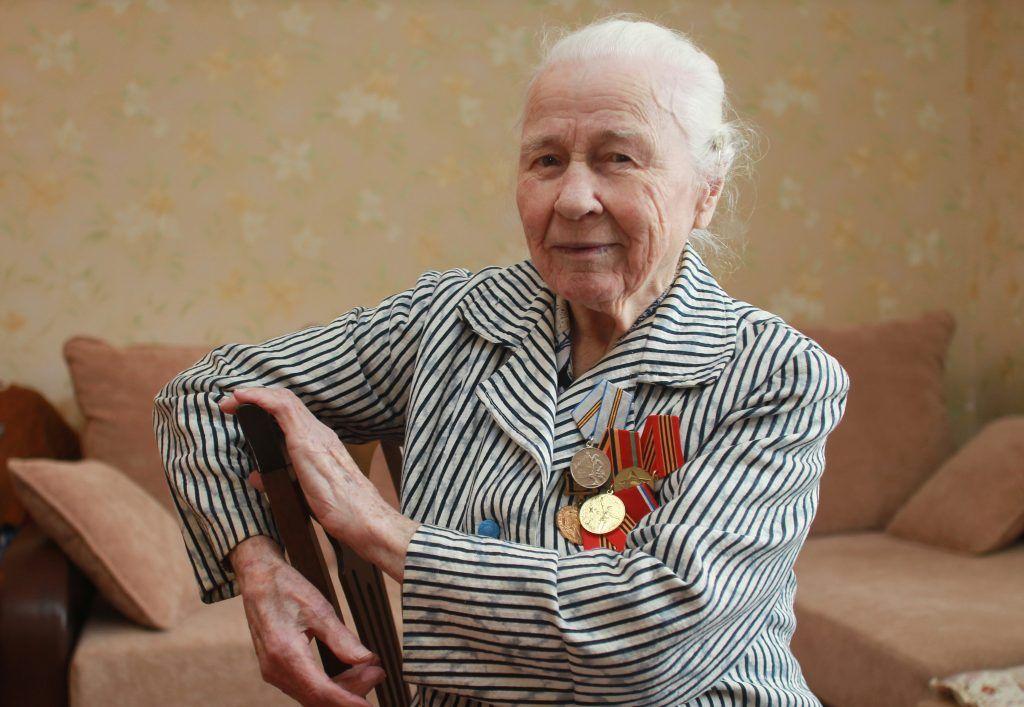 За оборону столицы Александра Васильевна награждена несколькими медалями. Фото: Наталия Нечаева