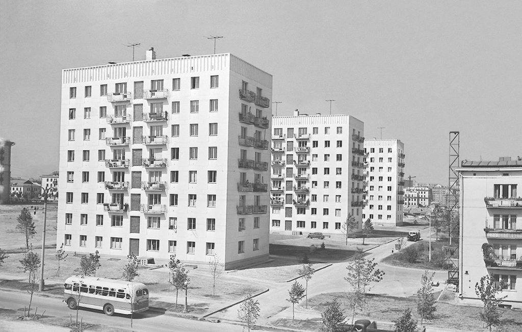 Москвичам рассказали историю строительства панельных домов