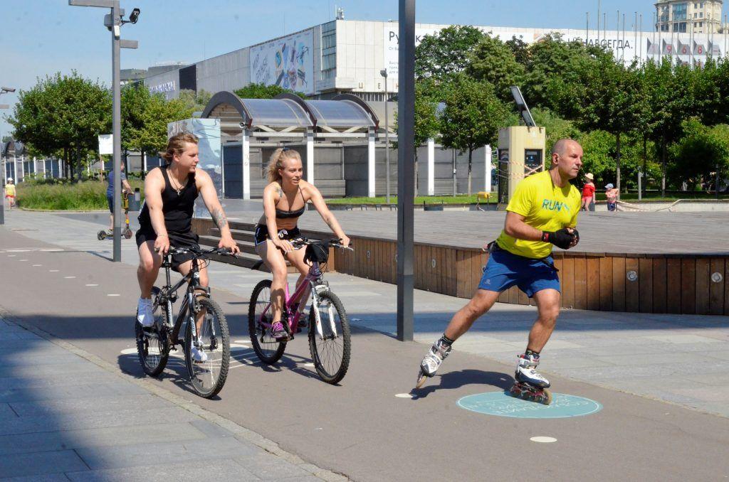 Активный отдых с комфортом: в столице доступны парки для полноценных тренировок