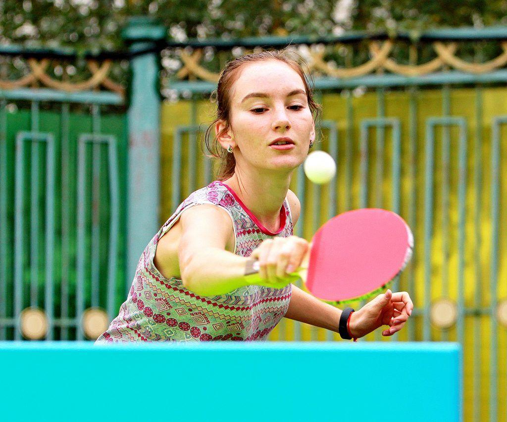 Онлайн-тренировку по настольному теннису провели сотрудники филиала «Янтарь»